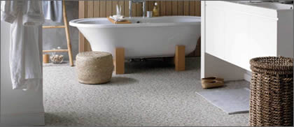 Karndean for bathrooms...